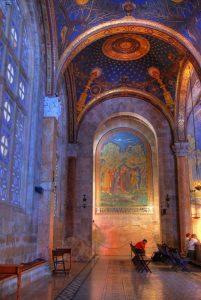 La Basílica de la Agonía, o de Todas las Naciones - Getsemaní,  Jerusalén 4
