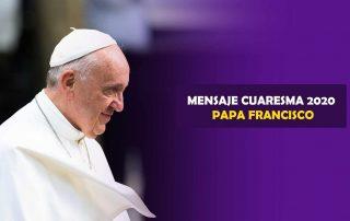 Mensaje del Papa para la Cuaresma 2020 - «Os pedimos que os reconciliéis con Dios» 1