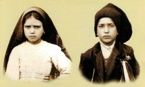 Los pastorcillos de Fátima Jacinta y Francisco