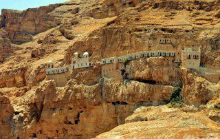 El Monte de las Tentaciones , Jericó - Tierra Santa 1