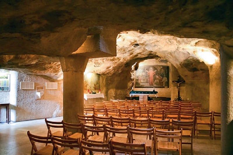 La gruta del Prendimiento - Jerusalén, monte de los Olivos 1