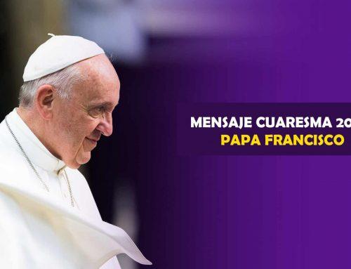 Mensaje del Papa para la Cuaresma 2020 – «Os pedimos que os reconciliéis con Dios»