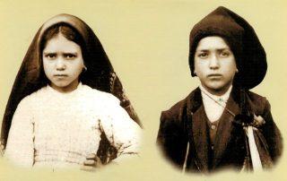 Santos Jacinta y Francisco Marto, videntes de Fátima -  20 de febrero 4