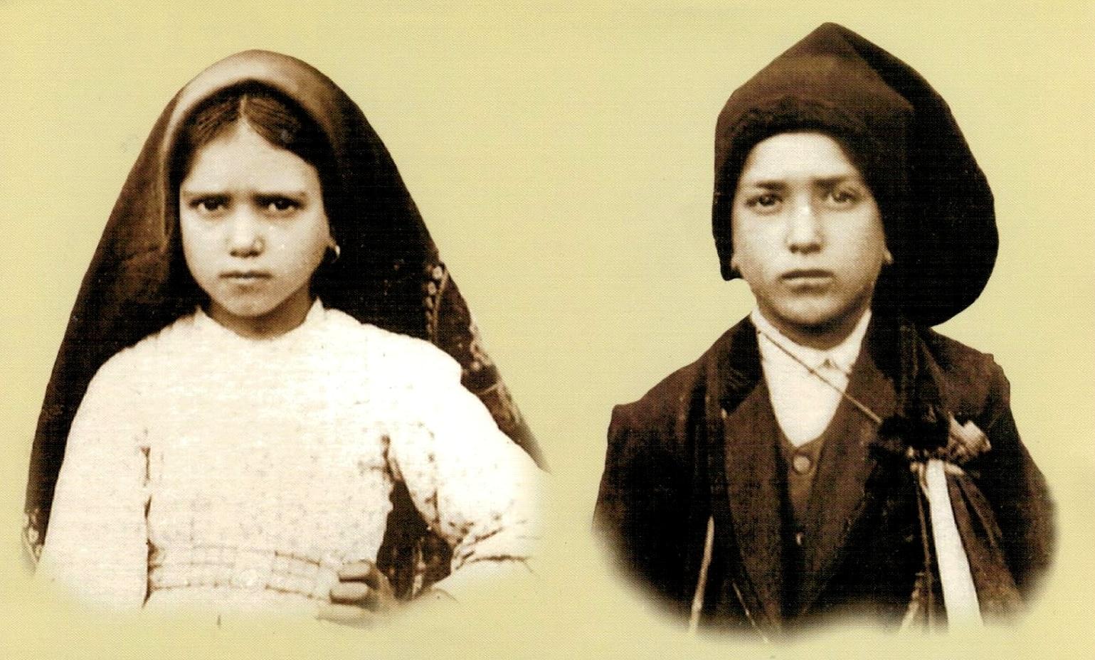Santos Jacinta y Francisco Marto, videntes de Fátima -  20 de febrero 1