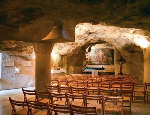 La gruta del Prendimiento – Jerusalén, monte de los Olivos