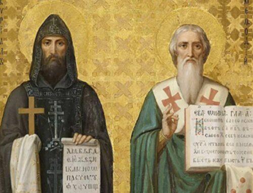 Santos Cirilo y Metodio, Patronos de Europa – 14 febrero