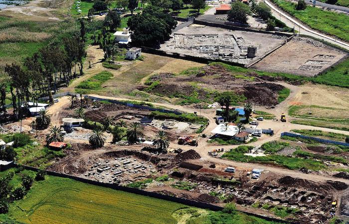 ¿Cómo está la ciudad de Magdala cincuenta años después de su excavación? 1