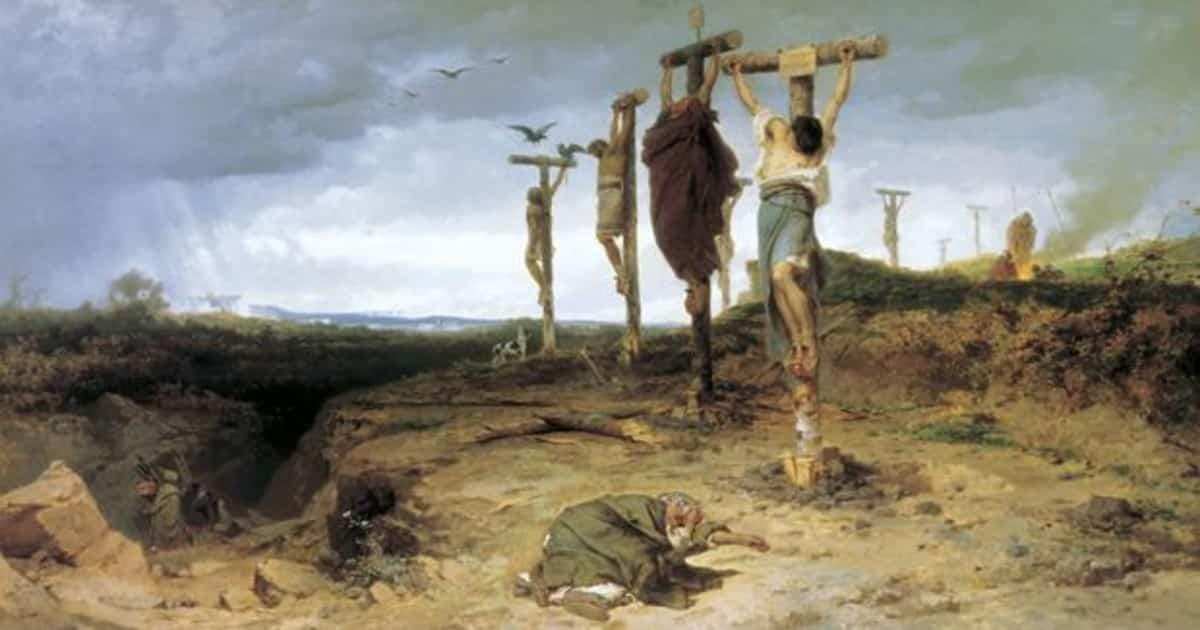 Historia desconocida de la Crucifixión - El castigo más atroz de la Antigua Roma 1