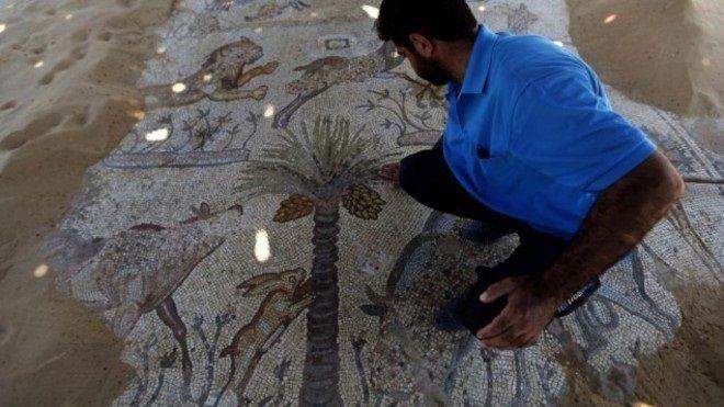 El monasterio de San Hilarión en Gaza - Tierra Santa 1