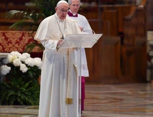 Las ideas del Papa Francisco para afrontar el coronavirus – Audacia, Esperanza y Coraje