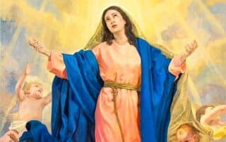 La asunción de la Virgen María a los cielos - 15 de agosto 1