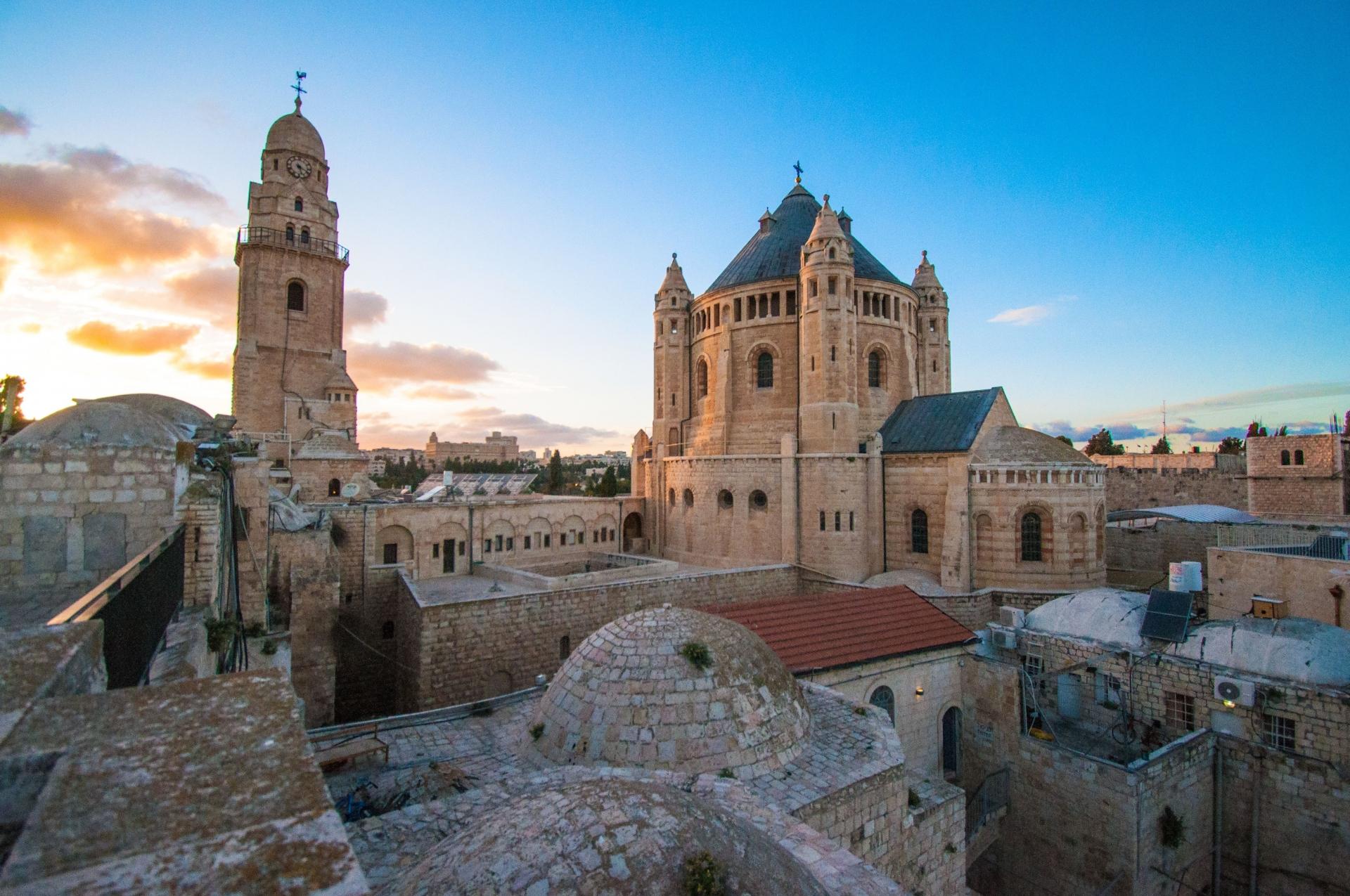 La Basílica de la Dormición - Jerusalén 1