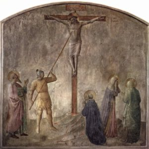 Longinos traspasó con su lanza a Jesús en la cruz - Soldado romano 3