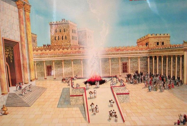 La Pascua judía y la Última Cena - Los sacrificios de la Antigua Ley 1