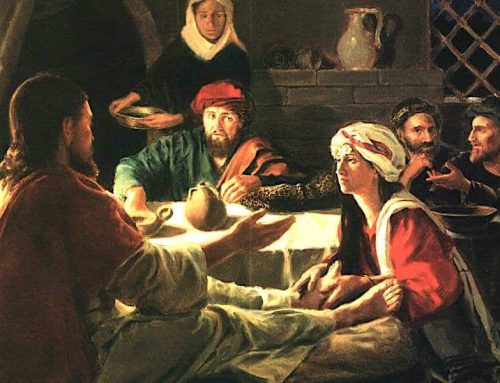 """LUNES SANTO – """"María, tomando una libra de perfume de nardo puro ungió los pies de Jesús"""""""