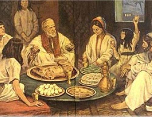 ¿Cómo celebraban los judíos la Cena Pascual?