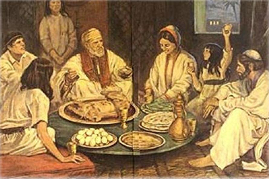 ¿Cómo celebraban los judíos la Cena Pascual? 1