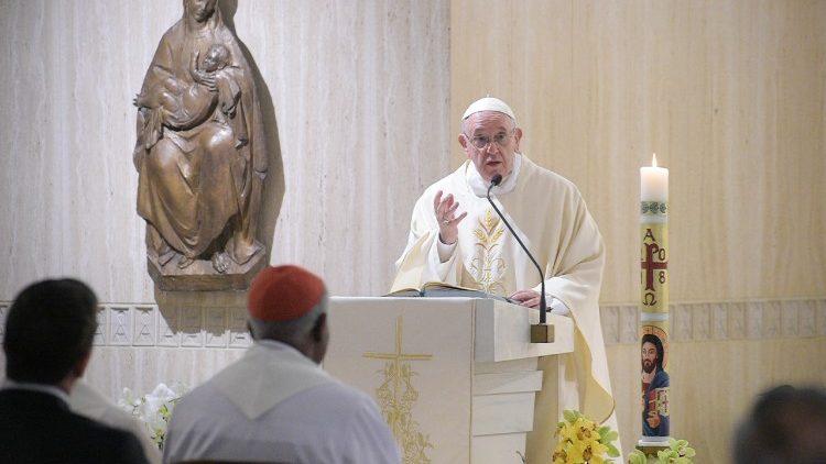 El Papa Francisco reivindica la franqueza y valentía de los primeros cristianos 1