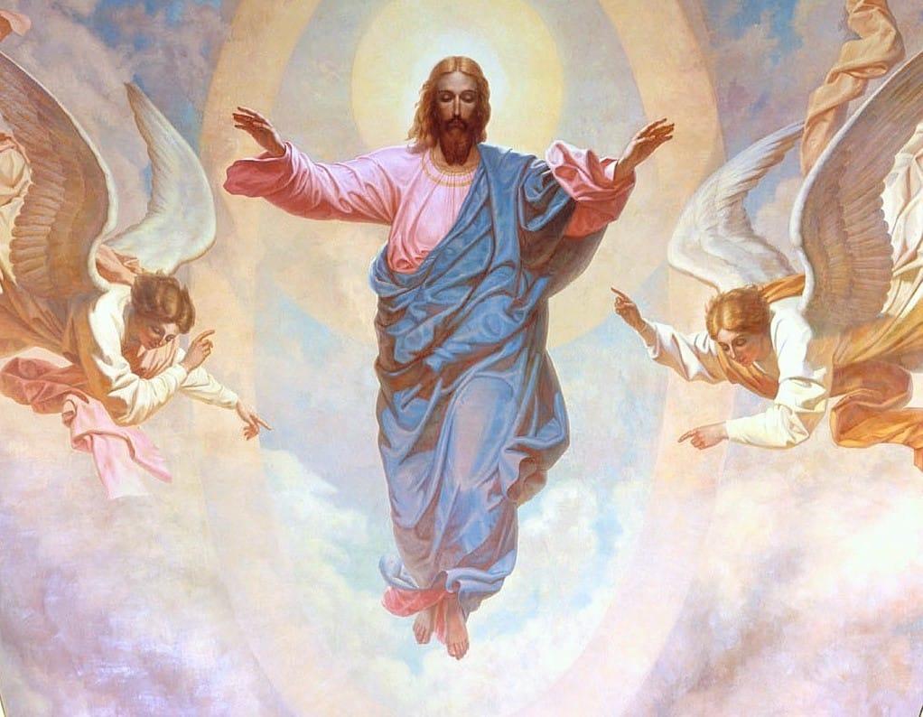 La Ascensión de Jesús al Cielo - 1