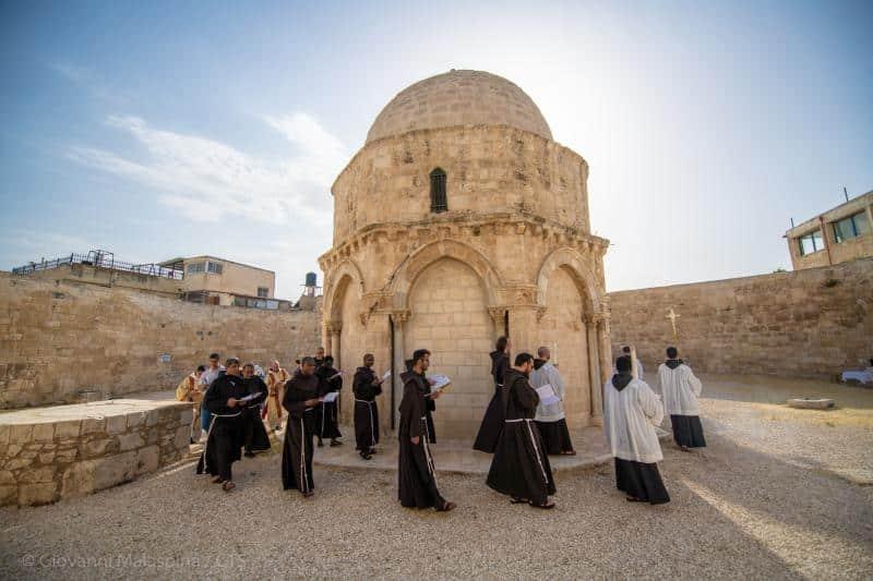 La fiesta de la Ascensión se celebra en Jerusalén 1