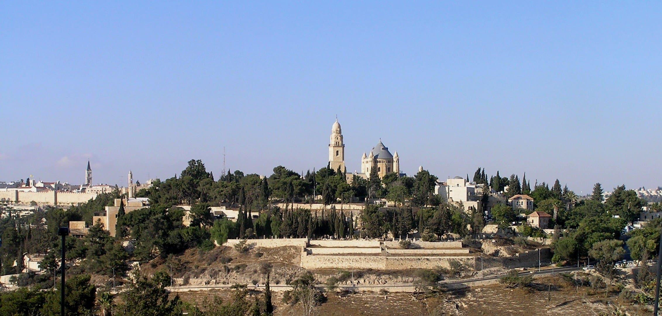El Monte Sion - Jerusalén 1