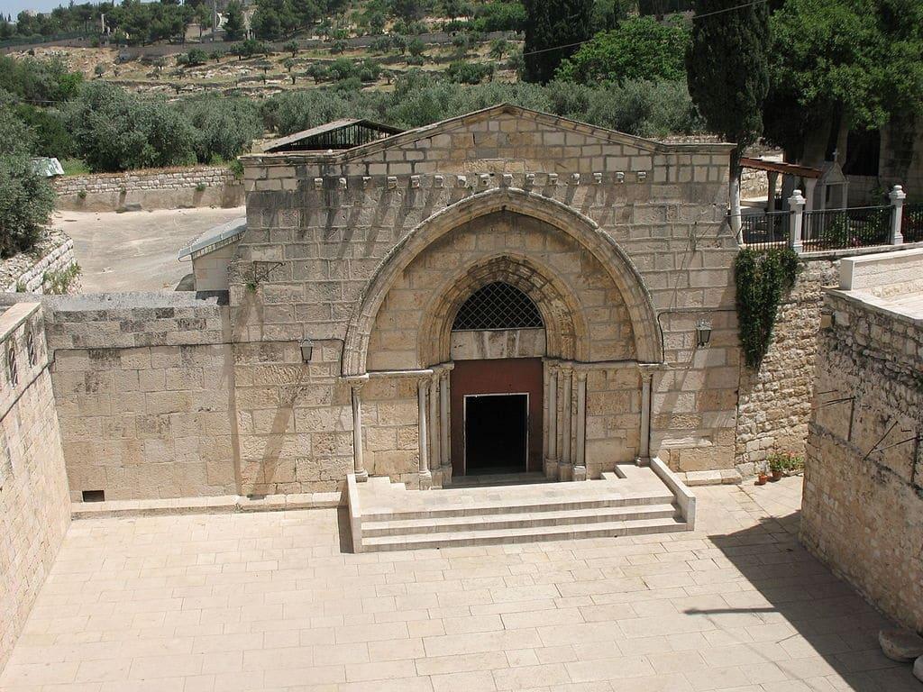 La Tumba de María en Getsemaní  -  Jerusalén 1