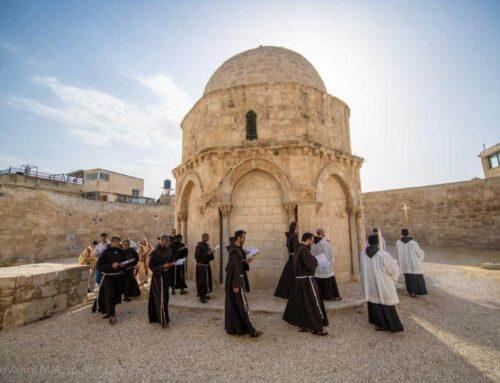 La fiesta de la Ascensión se celebra en Jerusalén
