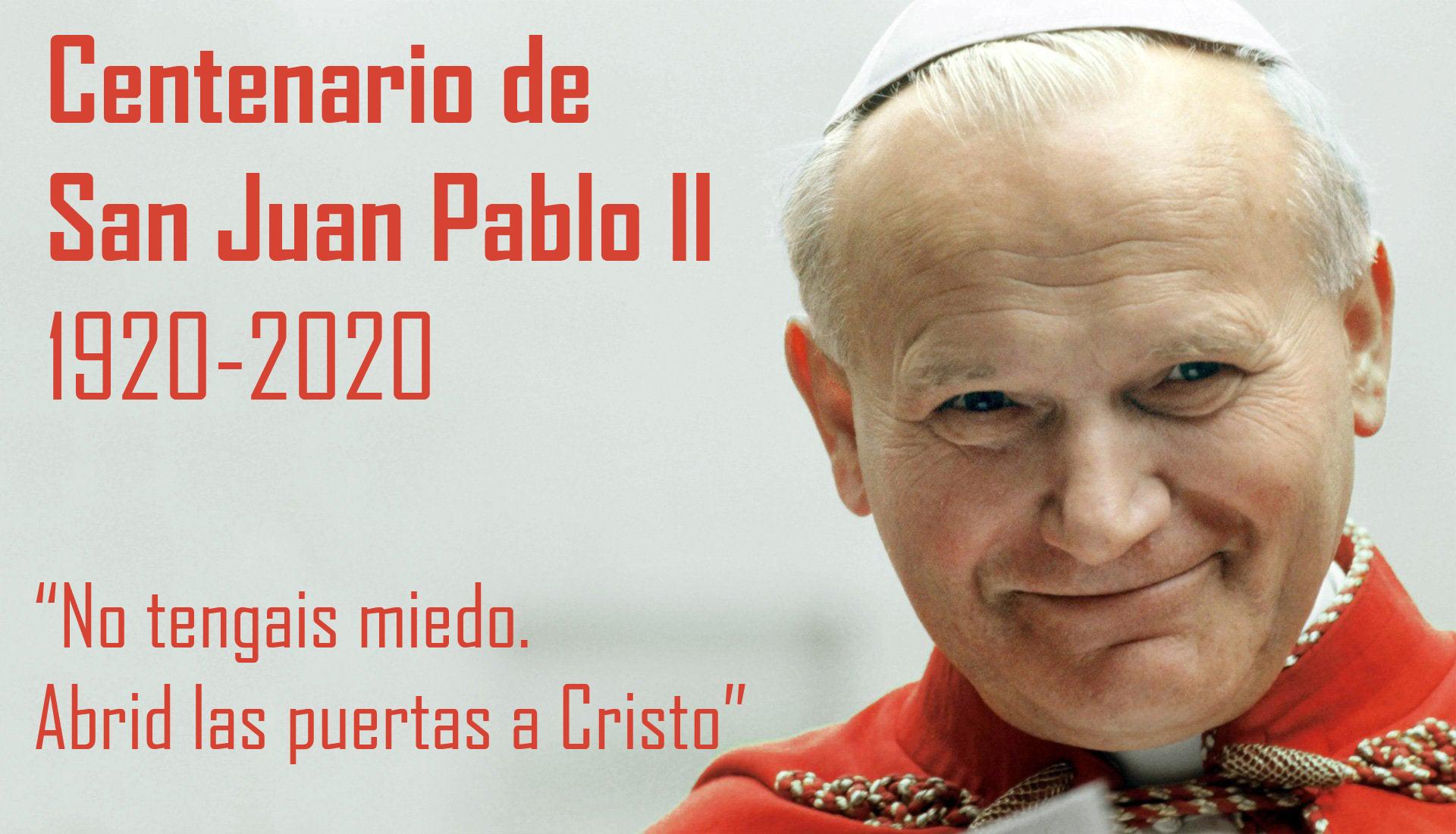 San Juan Pablo II - Biografía en el Centenario de su nacimiento 1920-2020 1