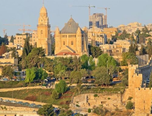 Oración en el Monte Sión – Jerusalén