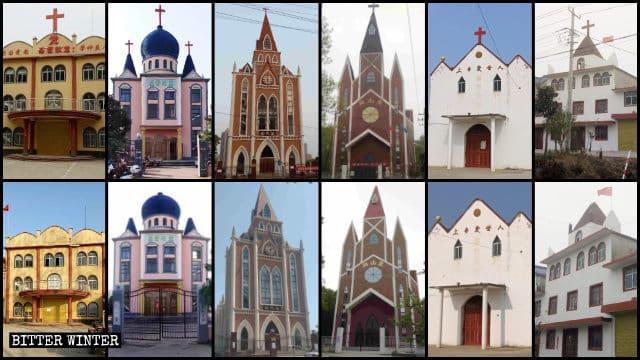Más de 250 iglesias de la provincia china de Anhui fueron despojadas de sus cruces 1