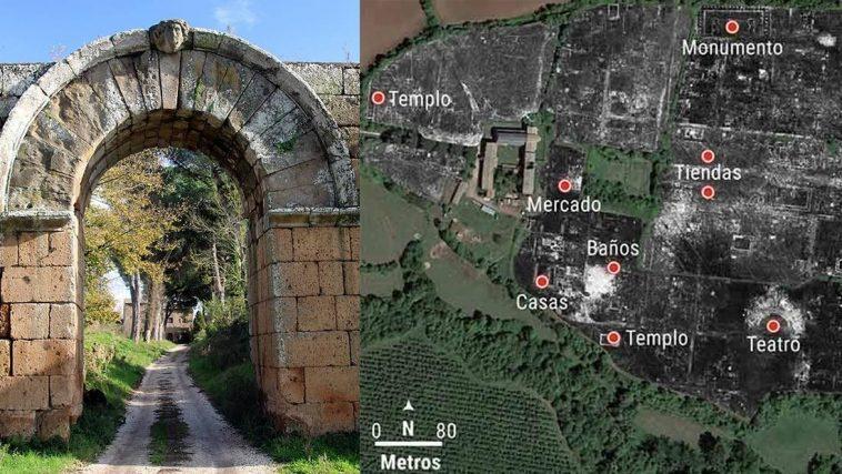 Descubren una ciudad antigua al norte de Roma utilizando el georadar 1