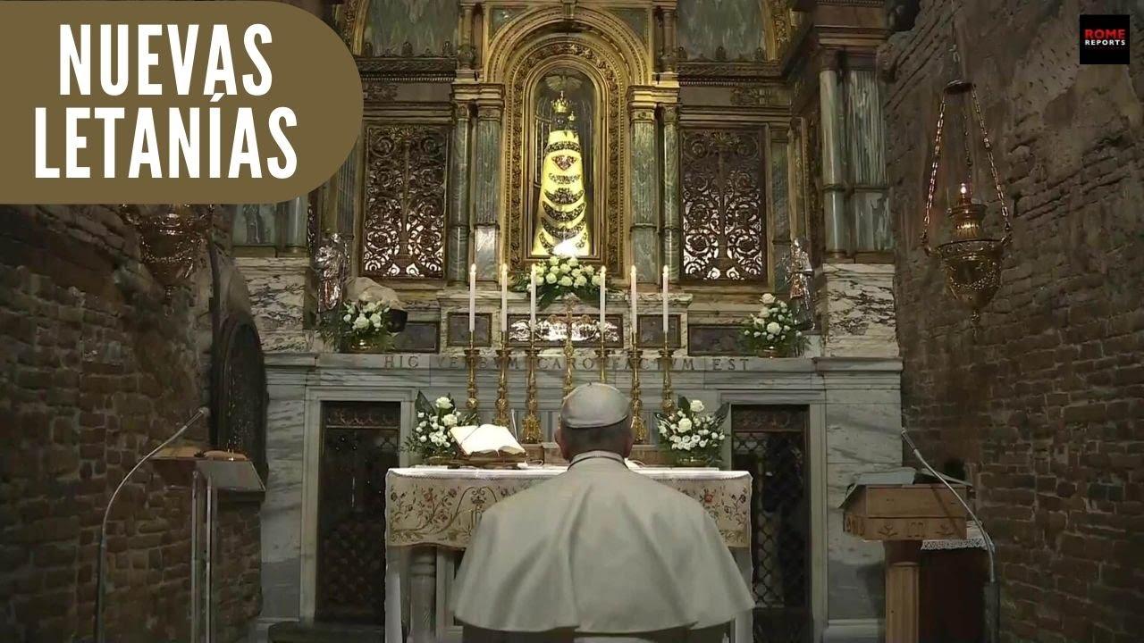 Por qué el Papa Francisco ha añadido 3 nuevas letanías y qué significan 1