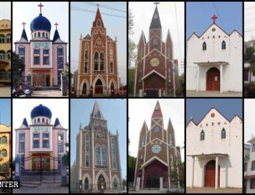 Más de 250 iglesias de la provincia china de Anhui fueron despojadas de sus cruces
