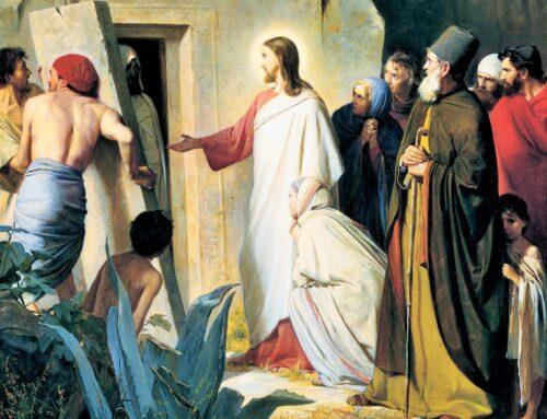 SAN LÁZARO, el amigo de Jesús – 29 de julio