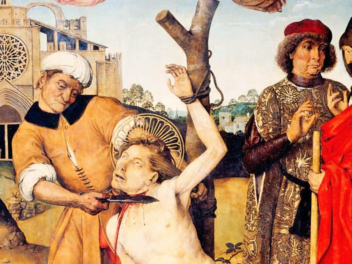 San Cucufate (san Cugat), mártir el 305 - 25 de julio 1