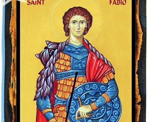 San Fabio, soldado mártir  - 31 de julio 1