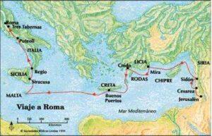 Los viajes de san Pablo - Entre los años 45 al 66 6