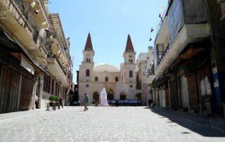 Restauran la catedral maronita de Alepo, destruida por los yihadistas durante la guerra 1