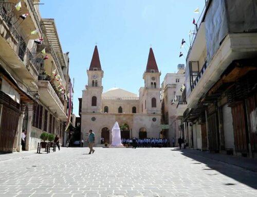 Restauran la catedral maronita de Alepo, destruida por los yihadistas durante la guerra