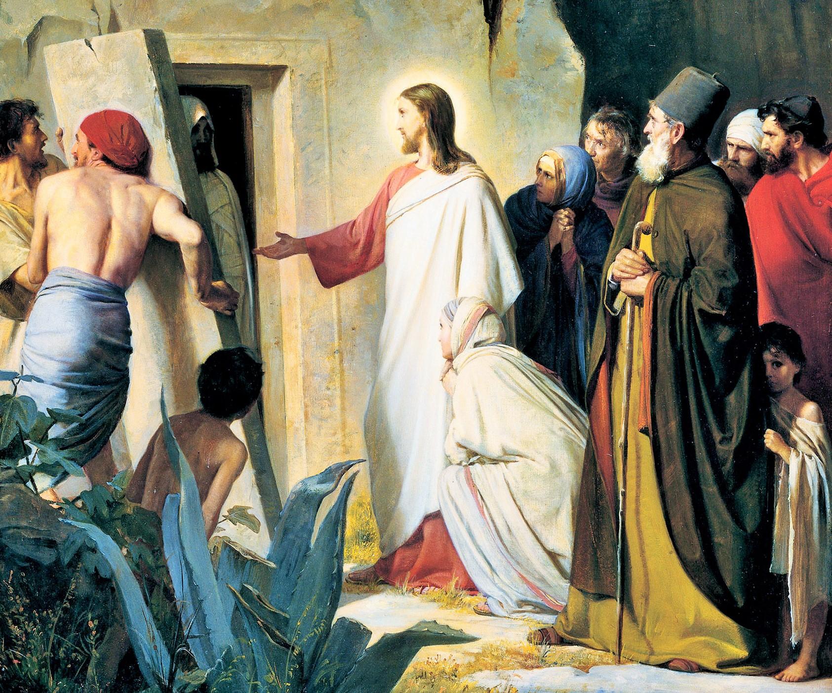 SAN LÁZARO, el amigo de Jesús - 29 de julio 1