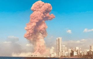Testimonio de los franciscanos de la Custodia sobre la explosión en Beirut 1