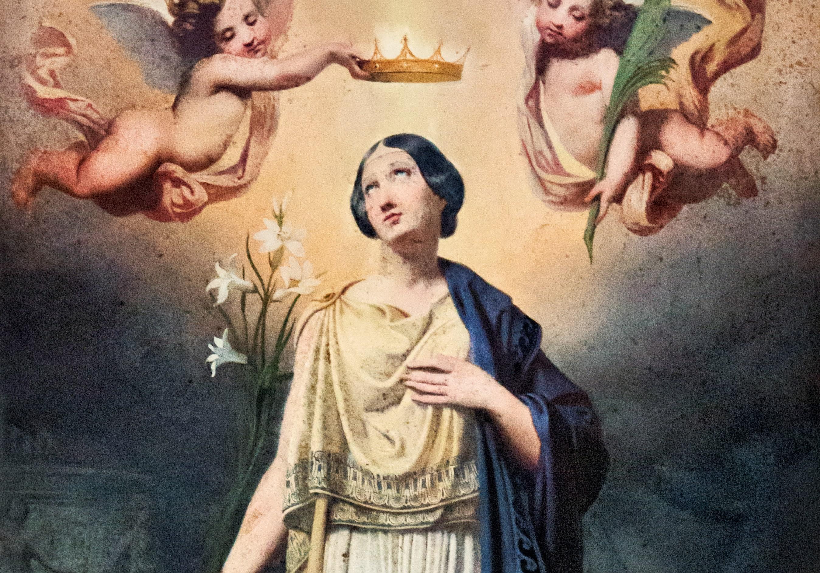 Santa Filomena, mártir siglo II - 11 de agosto 1