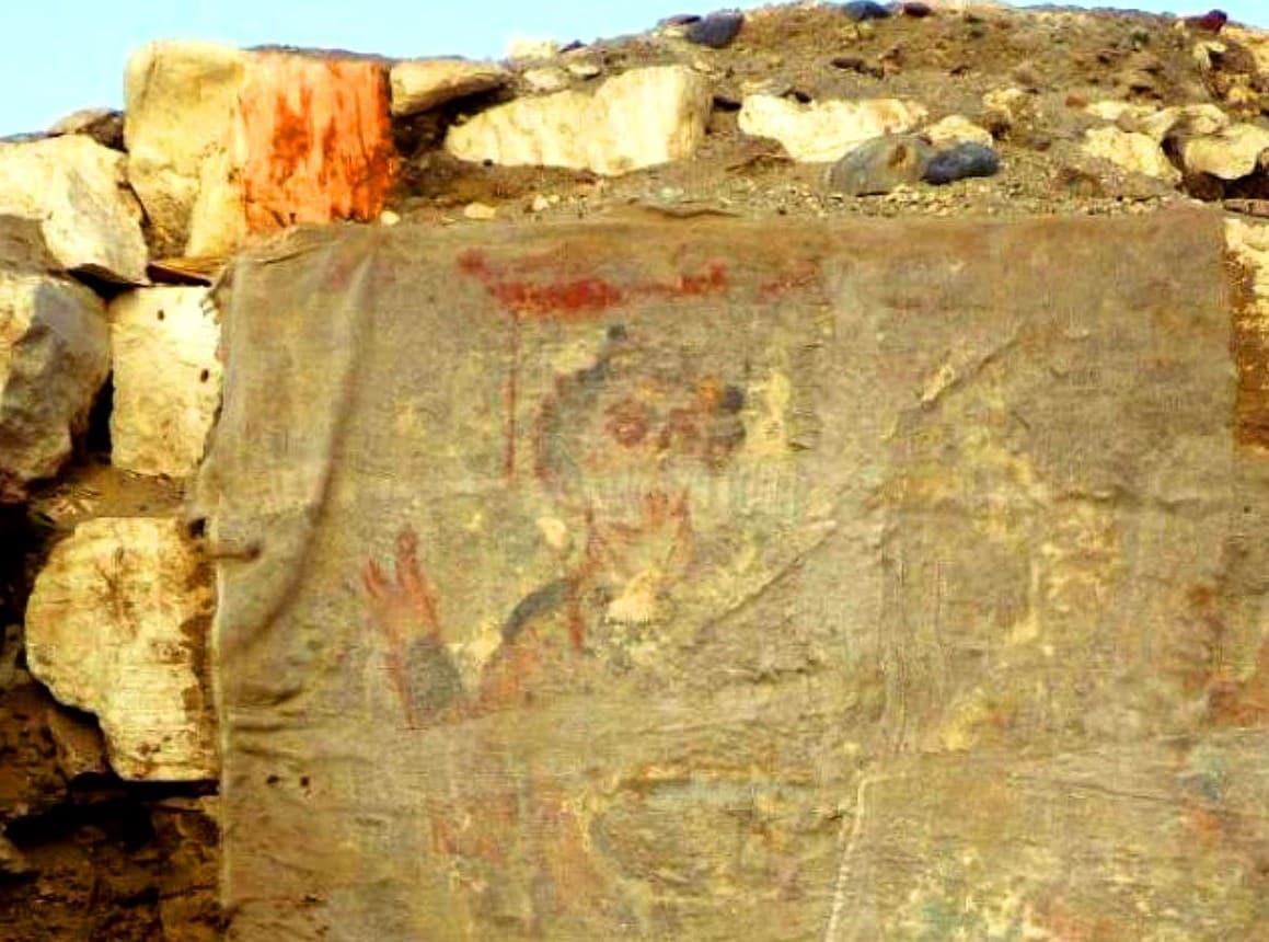 Arqueólogos descubren imagen de Jesús - Oxirrinco (Egipto), año 550 1