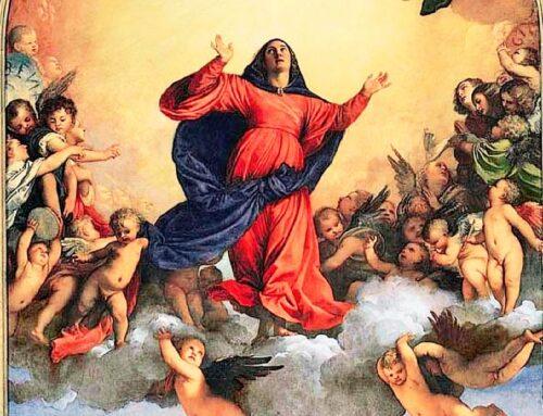 """La Asunción  de María – """"El Cielo tiene un corazón"""""""