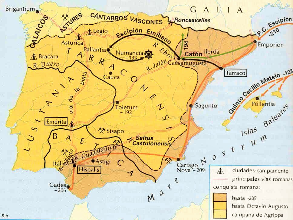 Los comienzos de la evangelización en la Península ibérica - Hispania siglos I, II y III 1