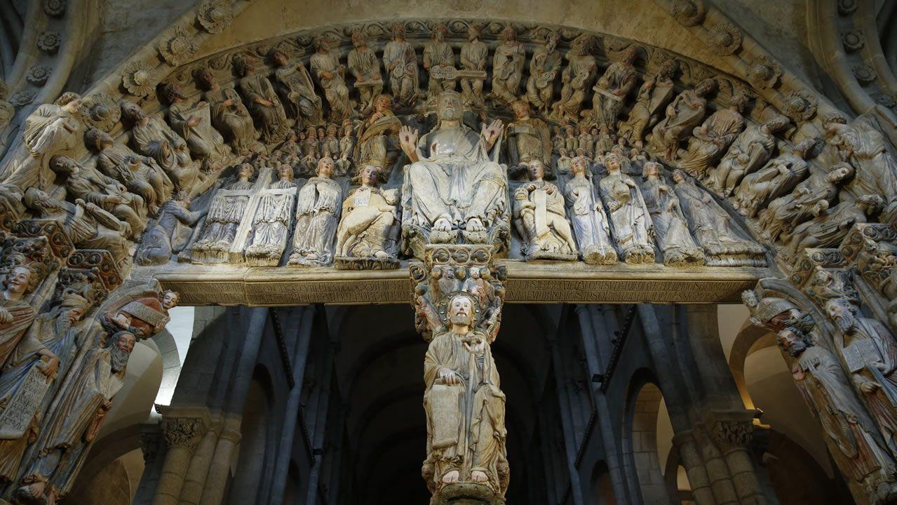 Impresionante visita virtual al Pórtico de la Gloria - Catedral de Santiago de Compostela 1