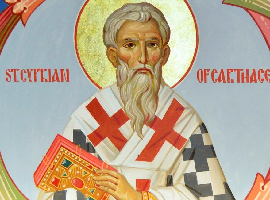 Obras de san Cipriano de Cartago , siglo III - 1