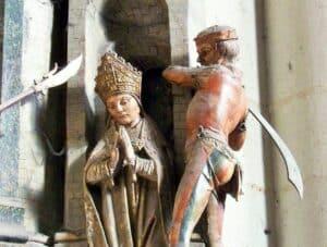 San Fermín - martirio