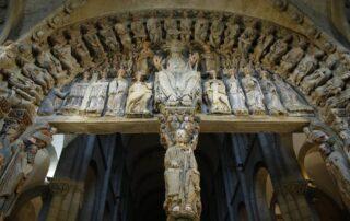 Impresionante visita virtual al Pórtico de la Gloria - Catedral de Santiago de Compostela 2
