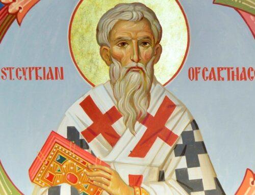 Obras de san Cipriano de Cartago , siglo III –